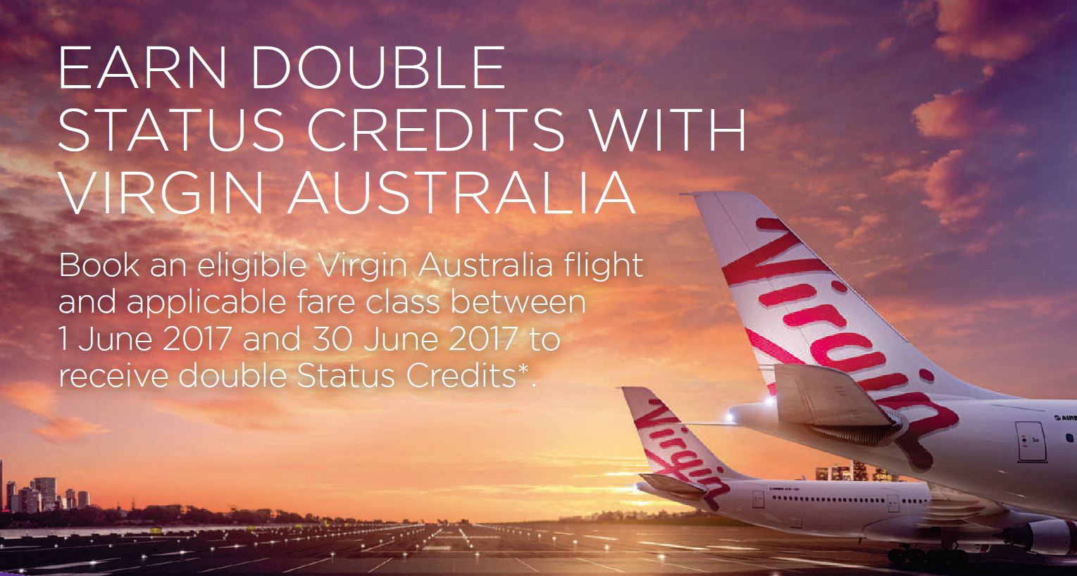 Earn double Status Credits with Virgin
