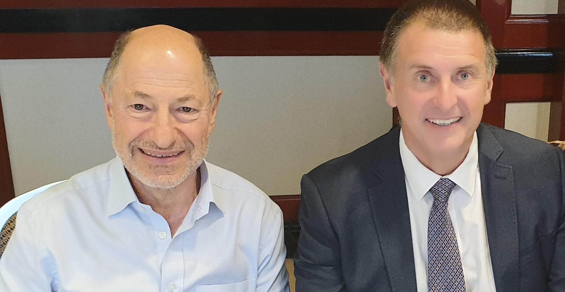 Alan talks with Matt Duffy from Sydney Airport